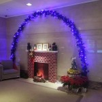 """Our lobby """"fireplace."""""""