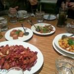 Sichuan Xmas eve dinner.